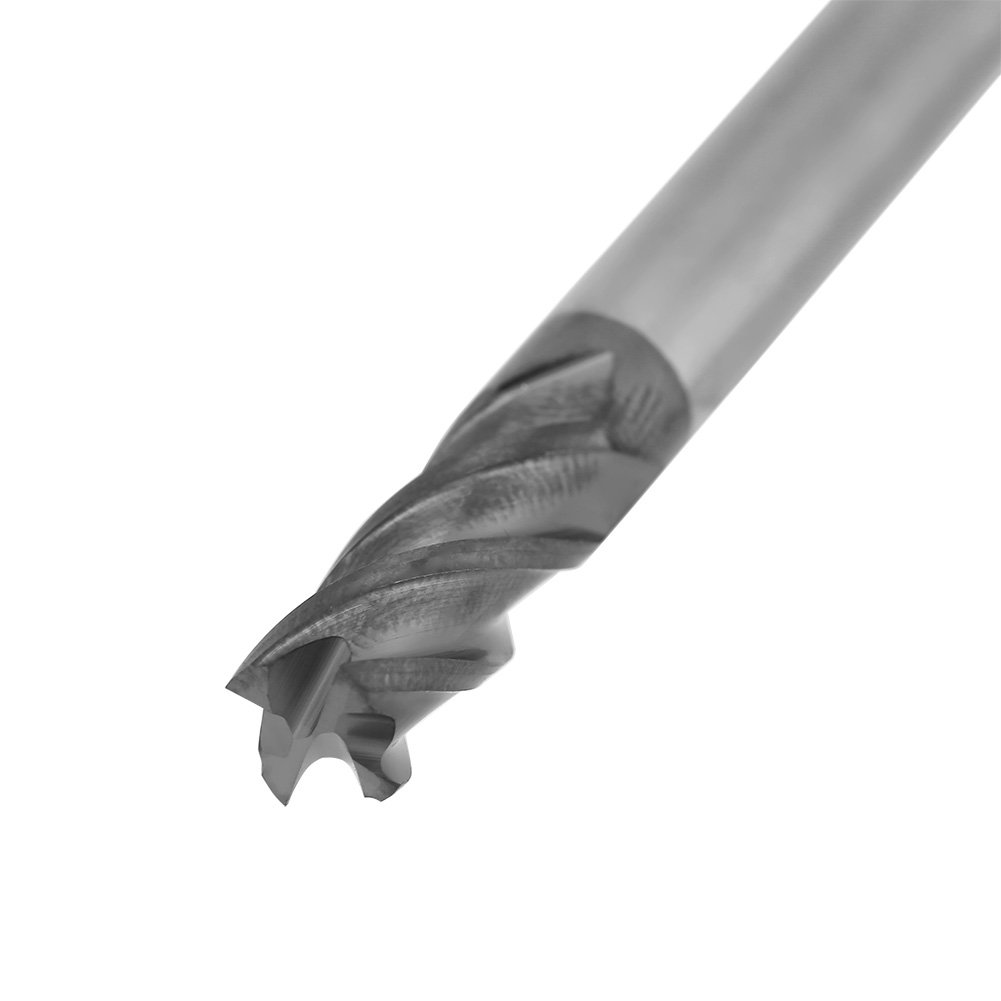 5 piezas Fresa de fresado CNC de carburo de tungsteno 4 Flauta Fresa de 6 mm de di/ámetro x 50 mm de longitud Fresas de extremo