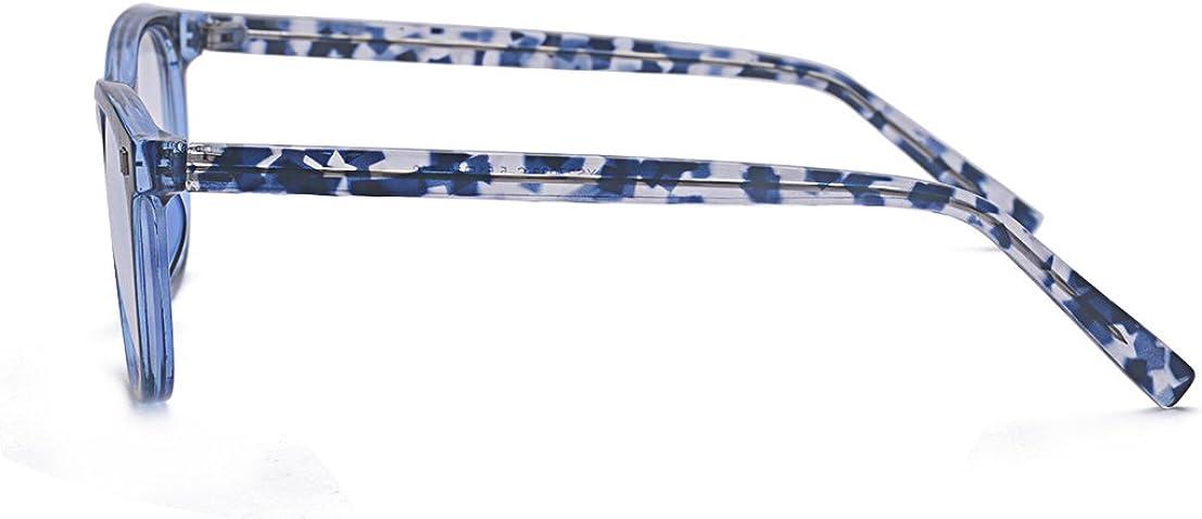ALWAYSUV Lentes azules que bloquean la luz antifatiga para unisex-adulto M Azul: Amazon.es: Ropa y accesorios