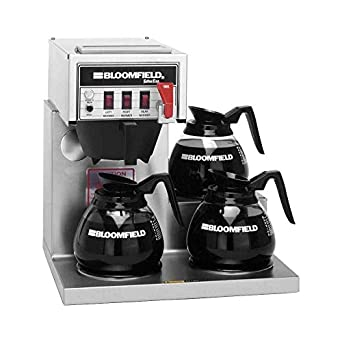 Bloomfield 8572D3F Koffee King Automatic Coffee Brewer, Low Profile,  Pour-Over Option,