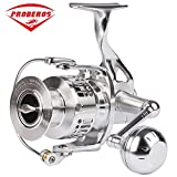 2017 PROBEROS aluminum alloy Fishing Reel CNC processing 6000 Spinning Reel14+1BB stainless steel Bearing anti-seawater Wheel Proberos Rods And Reels