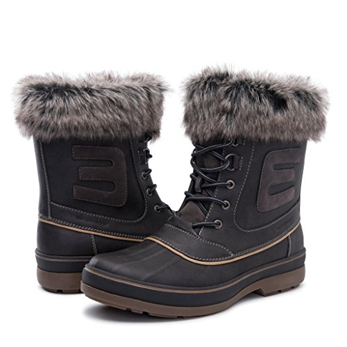 GLOBALWIN Men's Grey 1722 Winter Boots 10.5M