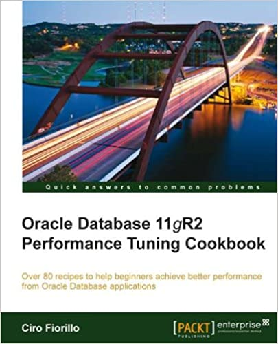 Amazon com: Oracle Database 11g R2 Performance Tuning