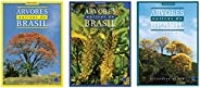 Coleção Árvores Nativas Do Brasil (3 Volumes)