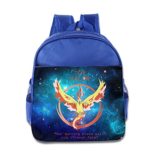 Price comparison product image Firebird Pokemon Go Team Valor3 Custom Boy Girl Kids School Bag Soft