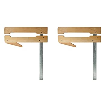 Superieur Dubuque Clamp Works USA Set Of 2 Made Maple 4.5 U0026quot; Deep By 24u0026quot;