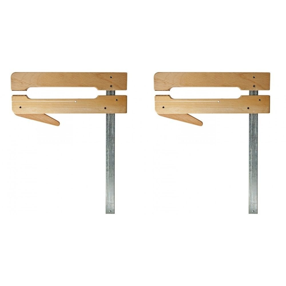 Dubuque Clamp Works USA Set of 2 Made Maple 4.5 '' Deep by 16'' open Luthier cam Clamp by Dubuque Clamp Works (Image #1)