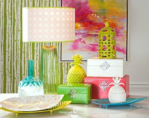 Imax Bala Lidded Pineapple 53116 Decorative canister NEW
