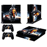 MightyStickers Protective Vinyl Skin Decal Cover for Sony PlayStation 4 PS4 Console & Remote DualShock 4 Controller Sticker Skins - I Am Legend of Soldier