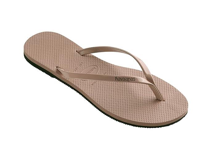 64ff0e3aa Havaianas Women s You Metallic Flip Flops Gold  Amazon.co.uk  Shoes   Bags