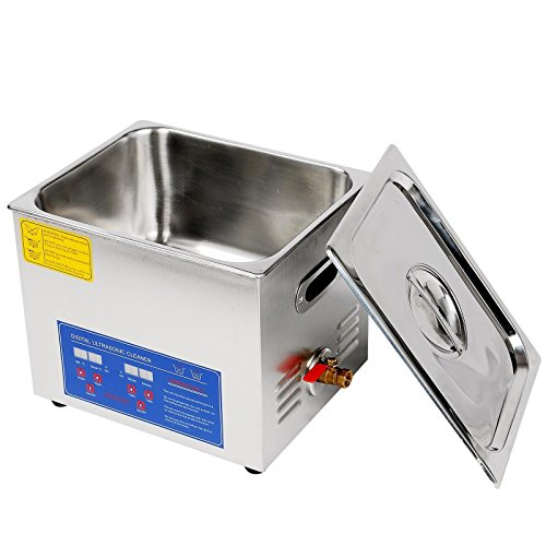 Jakan PS-40A Digital 10L Ultrasonic Glasses Cleaner to Clean the Surface,Longhole,Gap, Finedraw and Shelter of Piece Part or Workpiece. by Jakan