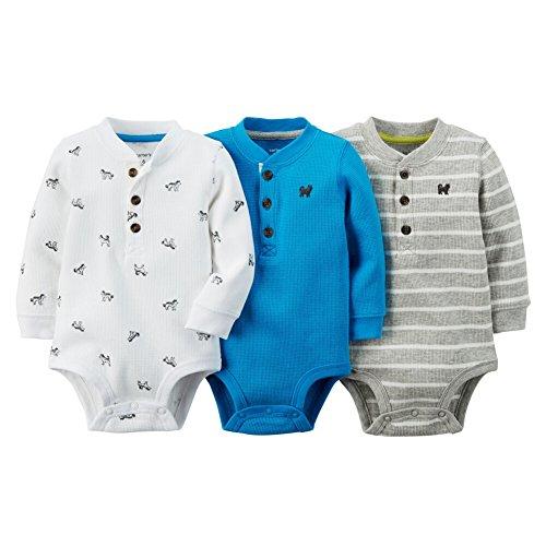 Carters Baby Boys Print Bodysuits