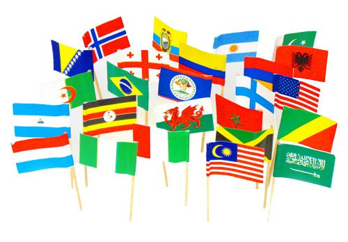Assorted Country Toothpick Flags World product image