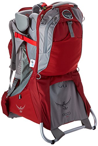Osprey Packs Poco - Plus Child Carrier (Romper Red One Size)