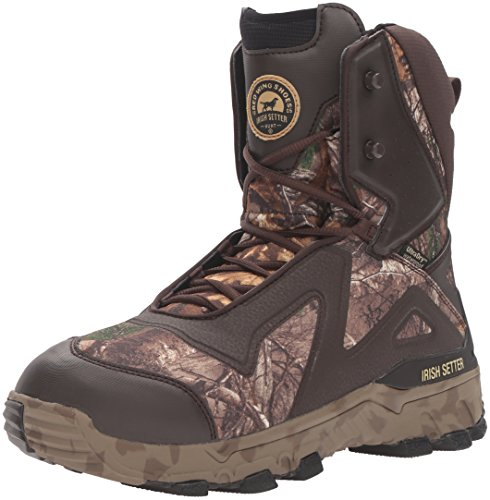 - Irish Setter Men's Vaprtrek LS 827 1200 Gram Hunting Boot, Realtree Xtra, 12 D US