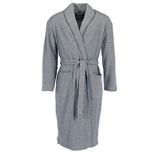 Majestic International Men's Big and Tall Micro Fleece Robe, LT/XLT, Grey ()