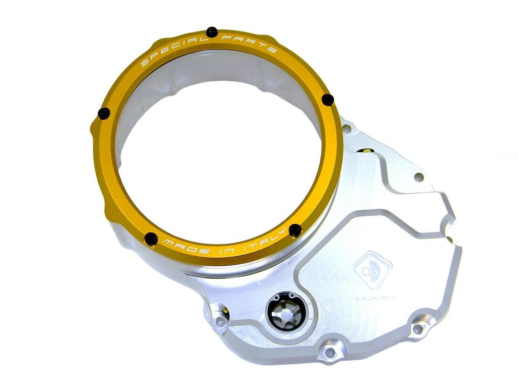 Ducabike Clear Clutch Cover Ducati Diavel 848 Hypermotard 796 GT / Sport 1000 ST3 SS620 SS800