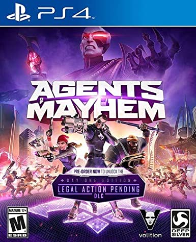 Square Enix Agents of Mayhem Day One Edition PS4 Básico ...