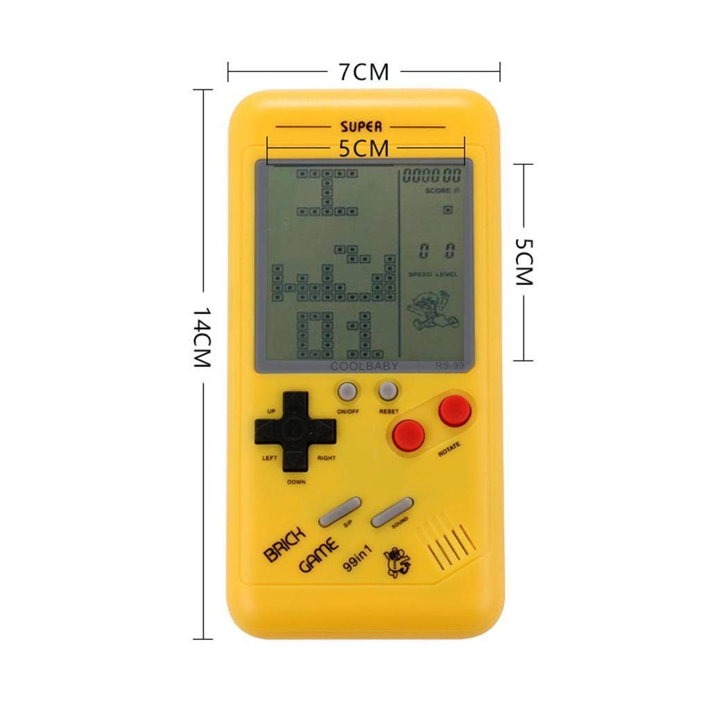Youandmes Children Tetris Game Console, Portable Kids Game Handheld Toys by Youandmes (Image #2)