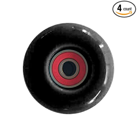 52mm Classic Skateboard Wheels Set of 4 Include 8PCS ABEC 9 Bearings
