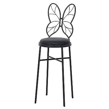 Amazonde Hwh Fliege Stuhl Metall Rückenlehne Stuhl Einfache Make