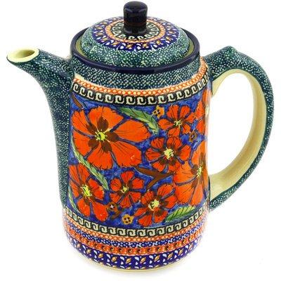 stoneware coffee pot - 4
