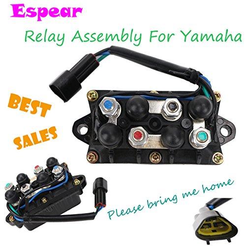 Tilt Relay (Outboard Power Trim Tilt Relay Assembly for Yamaha Voltage Regulator Rectifier)