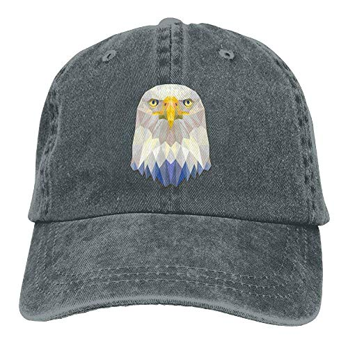 hanbaozhou Gorras Cute Baseball Hat Adjustable Us béisbol Eagle Denim Hat Female SrdxSBwPq