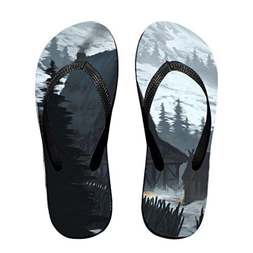 ach Sandal Unisex Slipper Flip Flops Outdoor Thong ()
