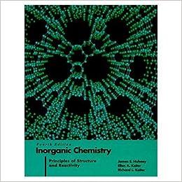 huheey inorganic chemistry solutions download