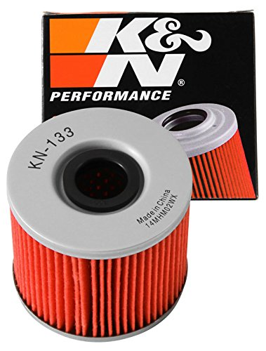KN-133 K&N Performance Oil Filter; POWERSPORTS CARTRIDGE (Powersports Oil Filters):