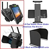 XSD MODEL PGYTECH monitor hood series L111 Black+remote control 7-10 Pad Mobile Phone Holder aluminum Flat Bracket for DJI Mavic Pro Review