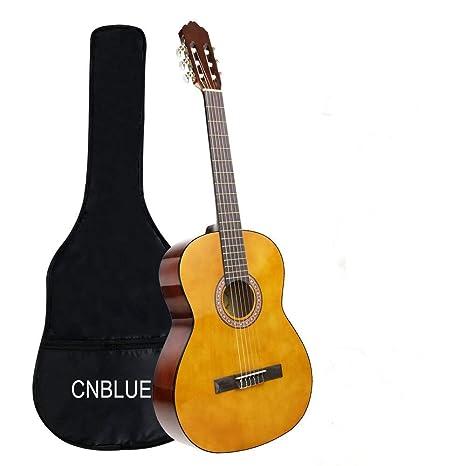 guitarra clásica acústica guitarra 3/4 tamaño 36 pulgada