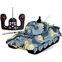 s-idee® 01197 Tanque German Tiger teledirigido