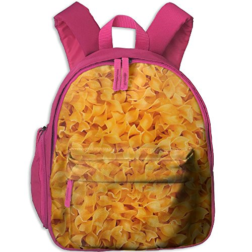 Pasta Food Little Lightweight Printing Shoulders Kid' Bag For Children School Kindergarten (Light Pasta Recipe)