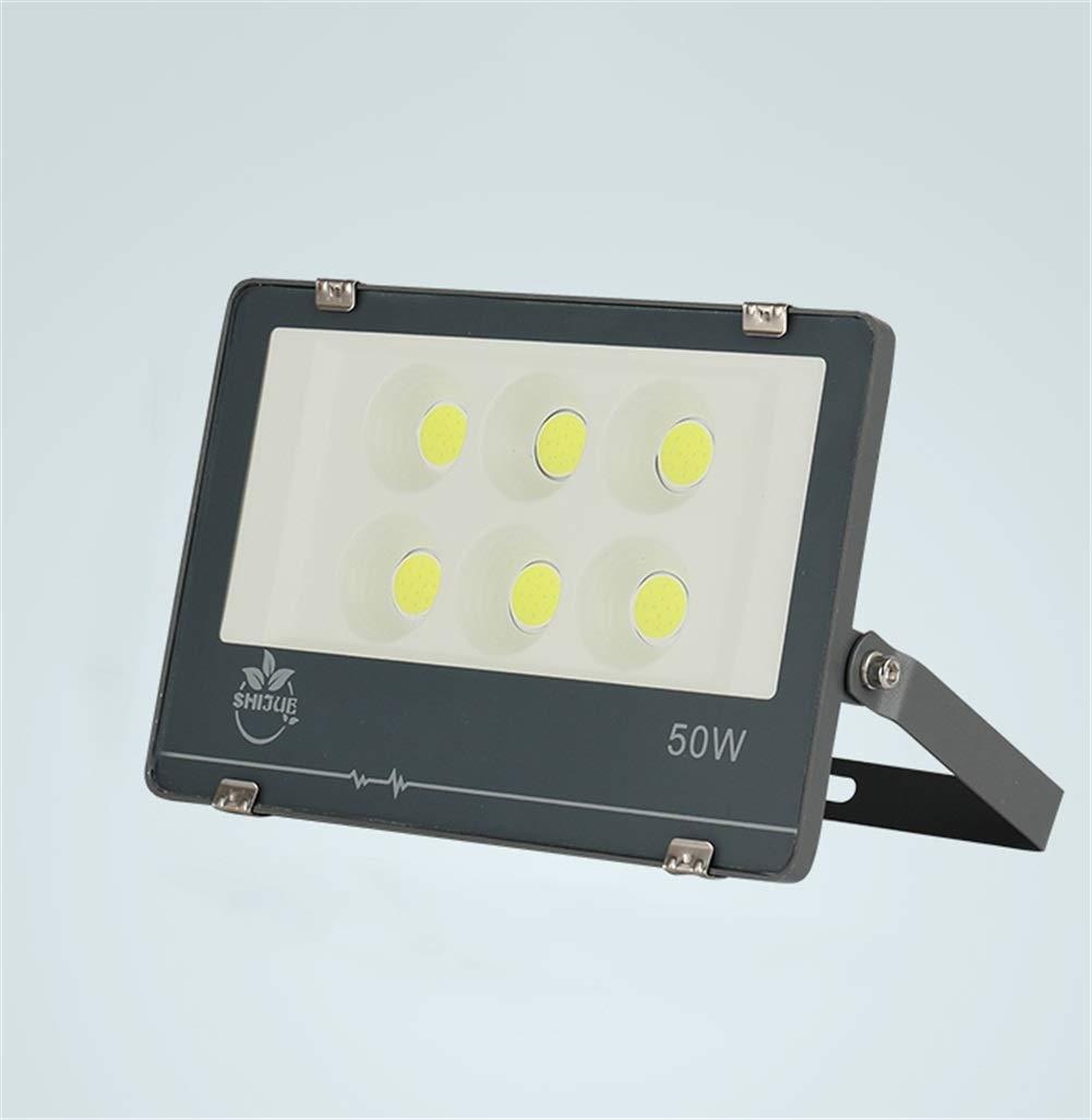 LED Faretto Da Esterno,Giardino All'aperto Spotlight High Power Cantiere Projection Light (dimensioni   50W)