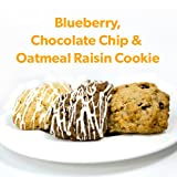Smart for Life: 3 Week Mixed Chocolate, Oatmeal Raisin, Blueberry Cookie Kit (21 6-packs of cookies, supply = 21 days)
