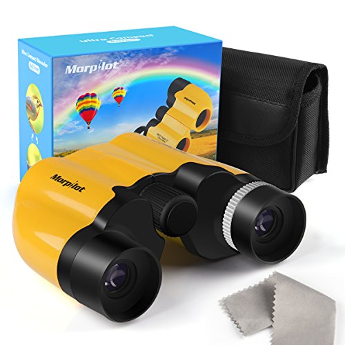 Morpilot Binoculars for Kids and Adults, 8X21 Foldable Small Compact Binoculars ,Great for Clear Bird Watching Wildlife Hiking Camping Traveling Outdoor Sports Games and Concerts by Morpilot