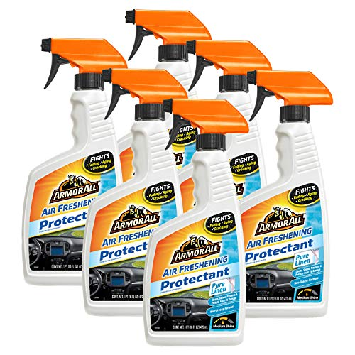 Armor All Air Freshening Protectant, Pure Linen, 16 fl. oz,Case of 6