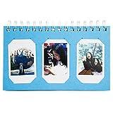 Woodmin 60 Pockets Calendar Photo Album for