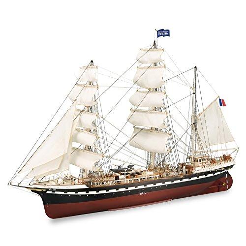 oden Model Ship: French Training Vessel Belem 1/75 (Latina Wooden Ship Model)