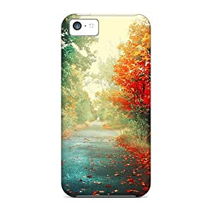 HDwTLhX452bzTBF GraceannMJackson Trees Autumn Feeling Iphone 5c On Your Style Birthday Gift Cover Case