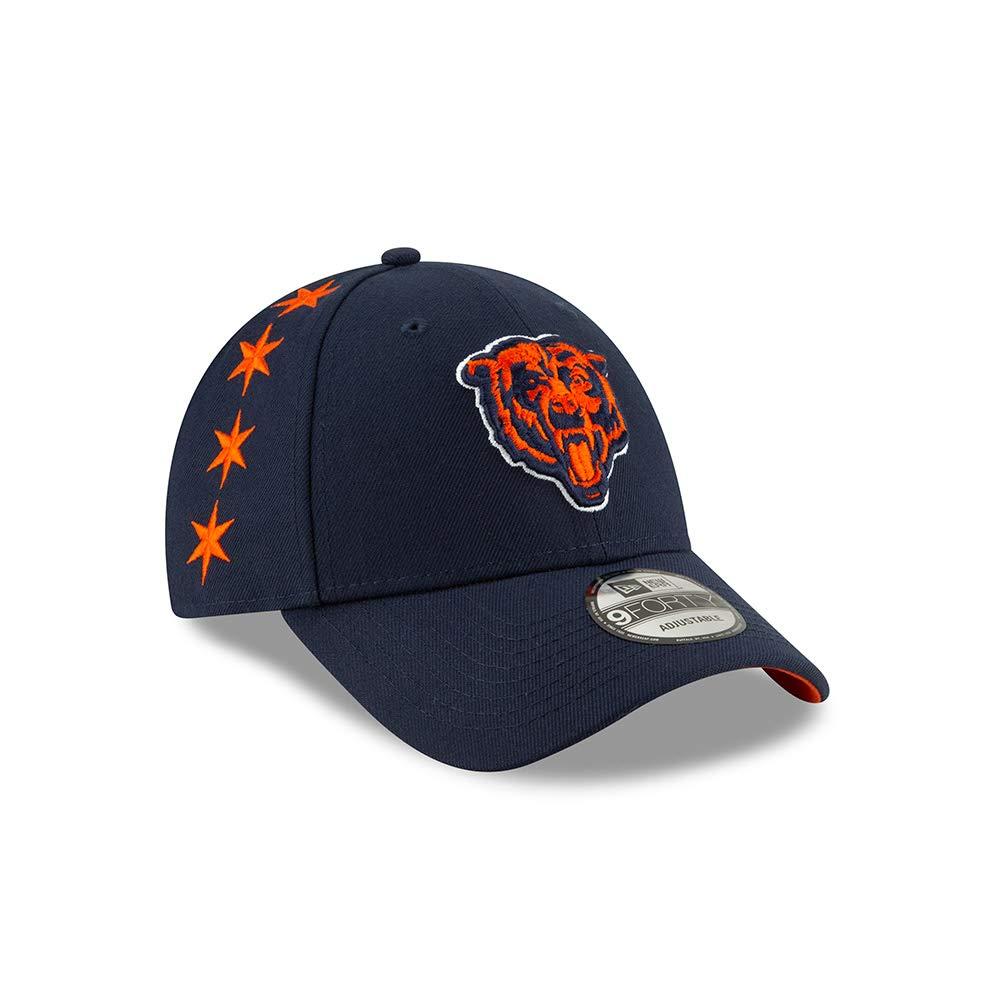 New Era Chicago Bears 9forty Adjustable Cap Nfl19 Draft