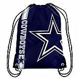 Dallas Cowboys Official NFL Drawstring Big Logo Backpack Backsack