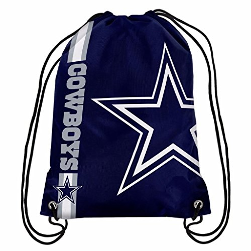 Dallas Cowboys Official NFL Drawstring Big Logo Backpack Backsack
