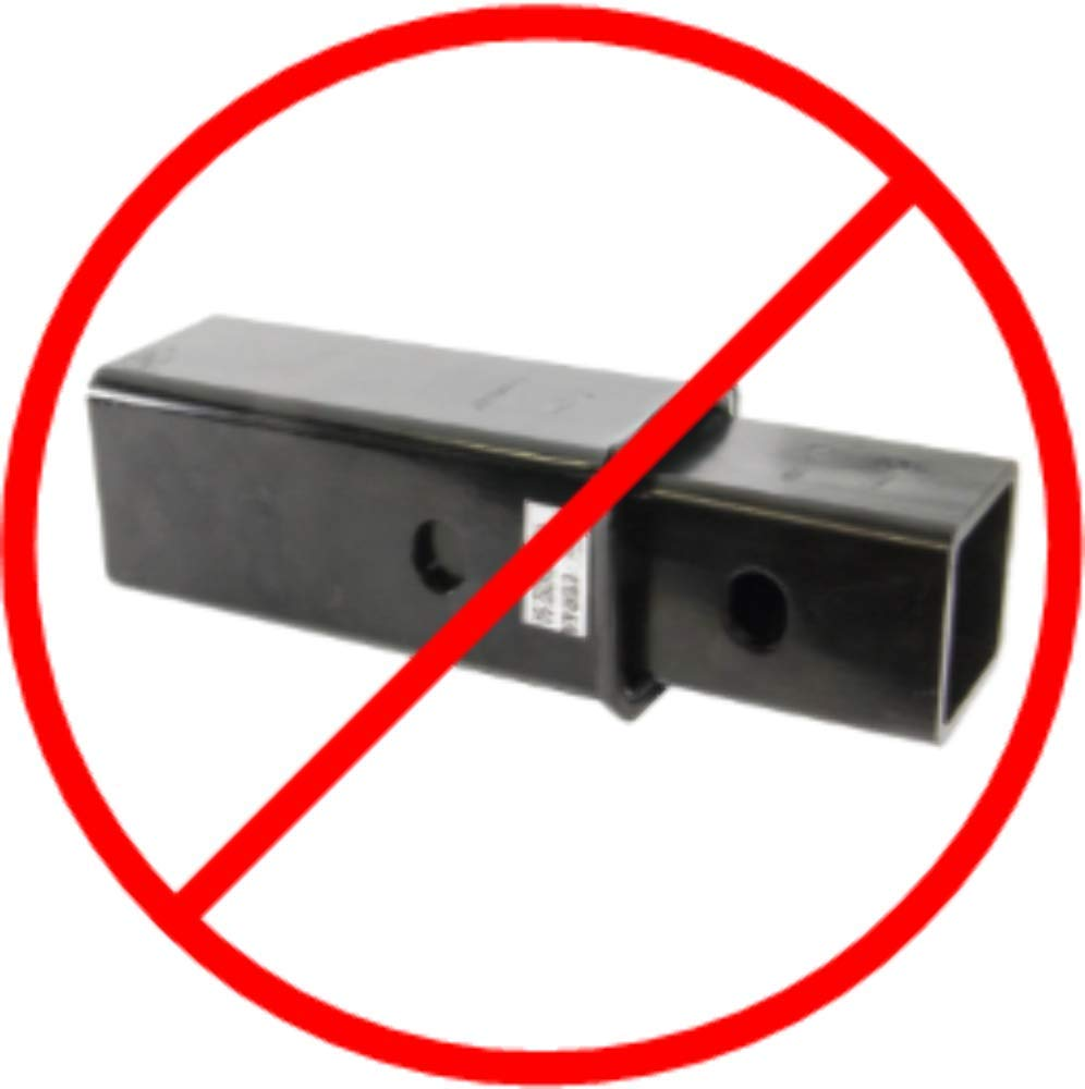 MOONLIGHT DIESEL Hercu-Sleeve 3 to 2 Towing Hitch Sleeve Reducer Adapter