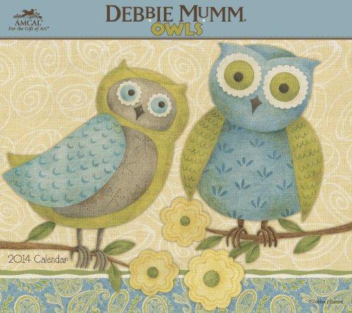 2014 Owls by Debbie Mumm Wall Calendar Debbie Mumm