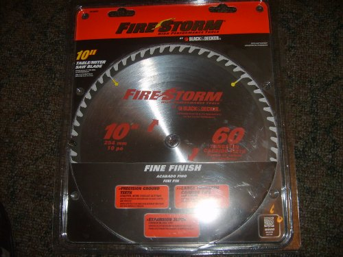 Firestorm 10 Miter/table Saw Blade (60 Tooth)