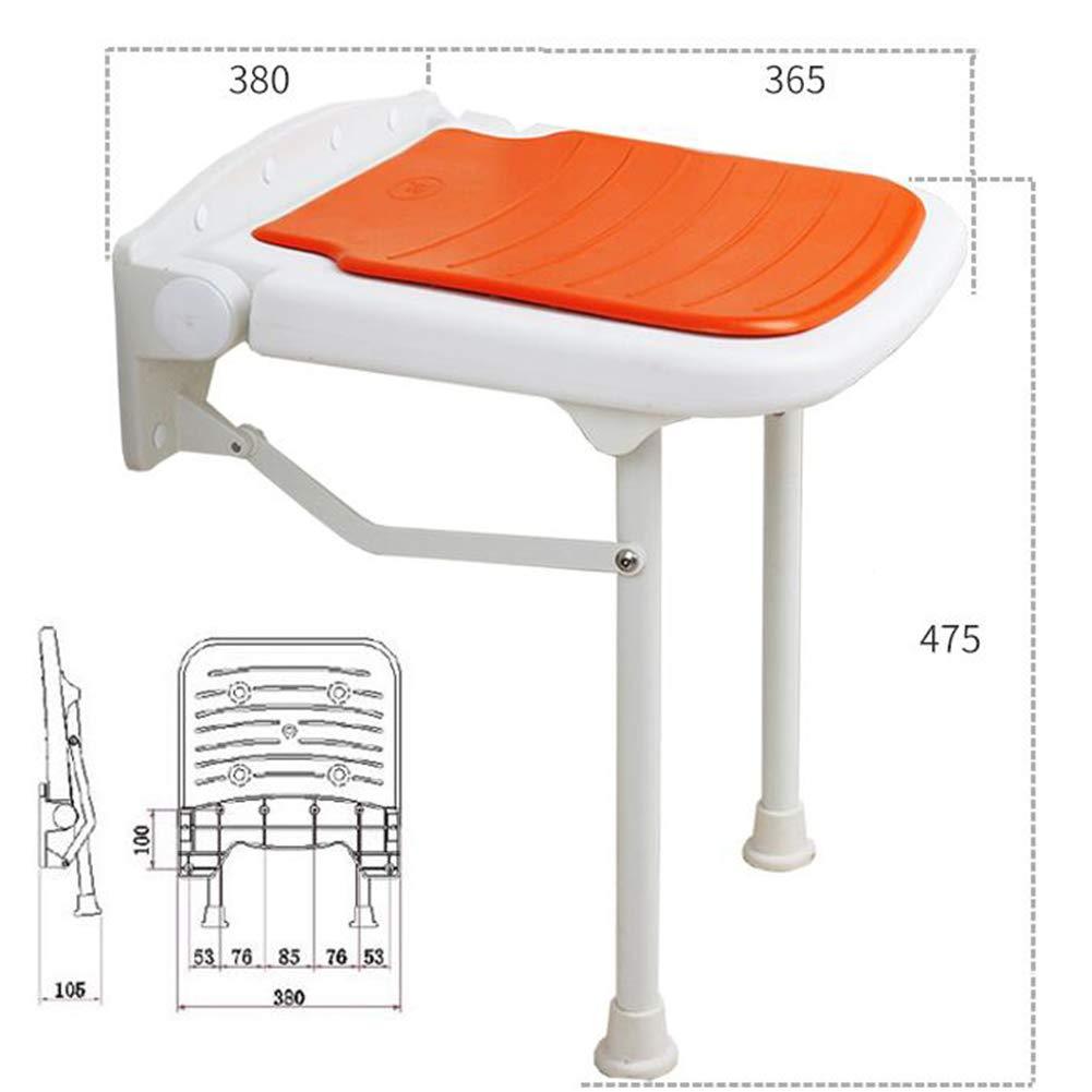 Yellow 380x365x475mm JIANFEI Footstool shoes Shelf Rack Height Adjustable Bathroom Corridor,4 colors 4 Size (color   Yellow, Size   380x365x450mm)