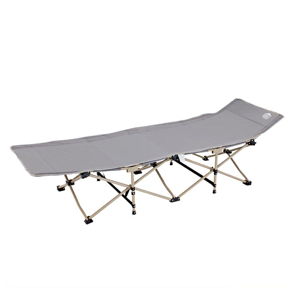 KTYXDE オフィスリクライナー折り畳み昼食休憩シエスタベッド折り畳みシート人々キャンプベッド折りたたみチェアベッド 折りたたみ椅子 (色 : B)  B B07KSS7FXF