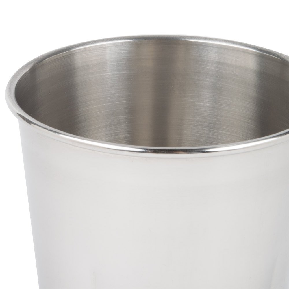 30 oz Stainless Steel Malt Cup by Tezzorio, Professional Blender Cup, Milkshake Cup, Cocktail Mixing Cup